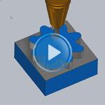 2.5D Vortex for Delcam for SolidWorks